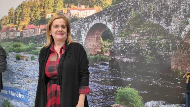 La presidenta de la Diputación de Pontevedra, Carmela Silva, en Fitur.