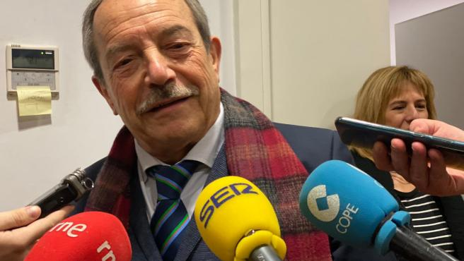 Portavoz del PSOE en el Ayuntamiento de Oviedo, Wenceslao López.