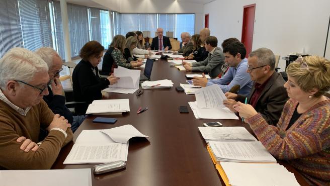Reunión del Comité operativo de episodio de contaminación atmosférica del Ayuntamiento de Murcia