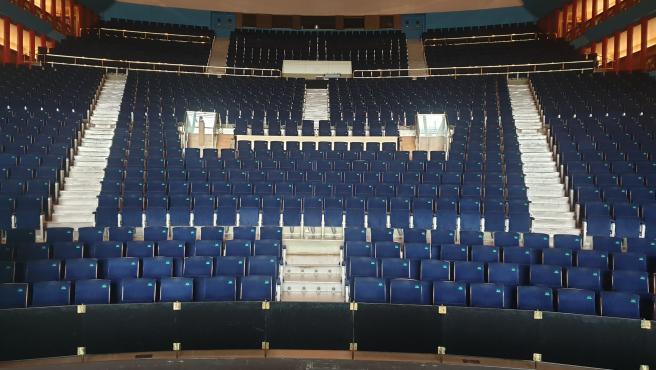 Sala Argenta del Palacio de Festivales de Cantabria