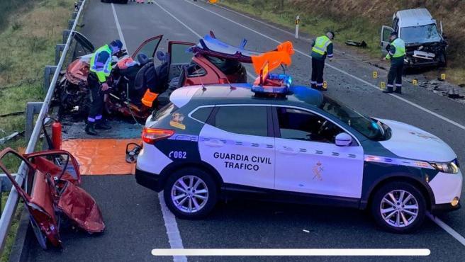 Foto del accidente.