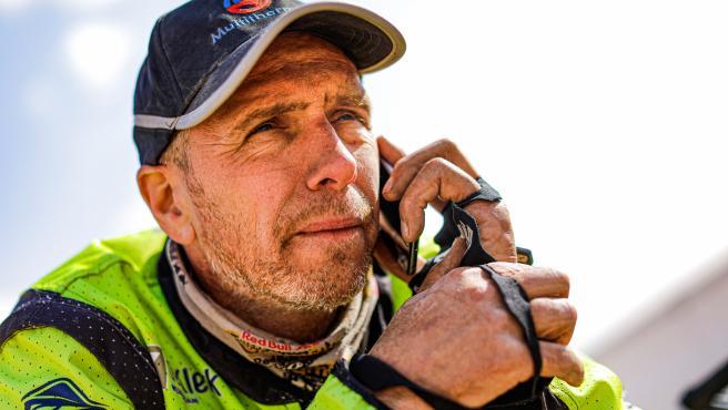 Edwin Straver, piloto del Dakar.