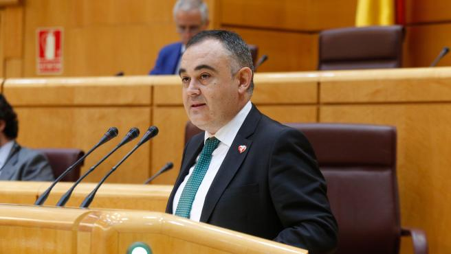 El diputado regionalista y senador autonómica, José Miguel Fernández Viadero