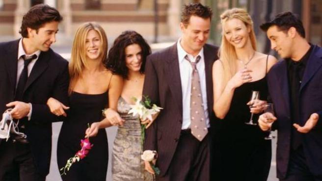 "Courteney Cox comparte una foto inédita de ""la última cena"" de 'Friends'"