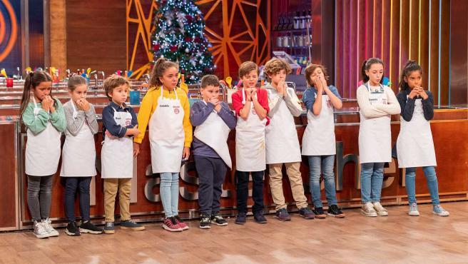 Los concursantes de MasterChef Junior 7.