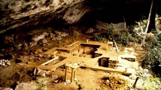 El yacimiento de Shum Laka, en Camerún.