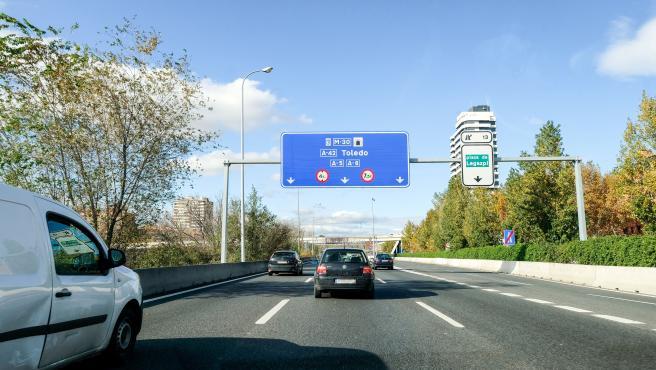 Carretera en Madrid