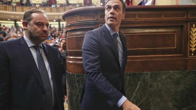 VÍDEO: Sánchez respalda a Ábalos: 'Puso todos los esfuerzos para evitar una cris