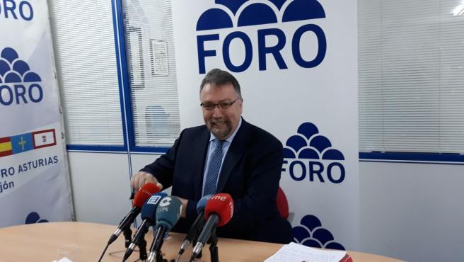 El diputado nacional de Foro por Asturias, Isidro Martínez Oblanca.