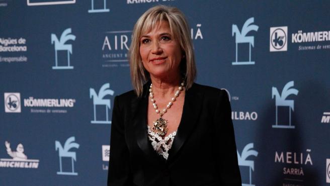 Julia Otero en el photocall de los Premios Ondas.