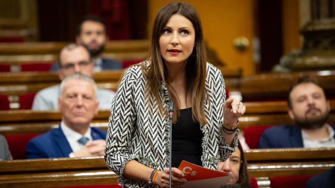 La líder de Ciudadanos en el Parlament de Catalunya, Lorena Roldán
