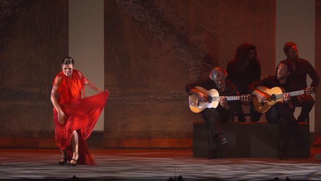 Sara Baras trae 'Sombras' al teatro Tívoli de Barcelona