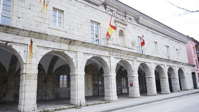 19/12/2019 SANTANDER Parlamento de Cantabria FOTO: JUAN MANUEL SERRANO ARCE