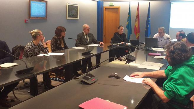 Celebración del Consejo de Vivienda del Principado de Asturias.
