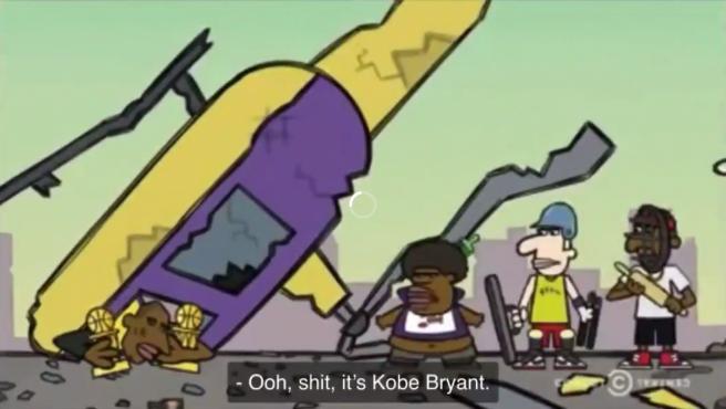 Una imagen del corto de dibujos de Comedy Central.