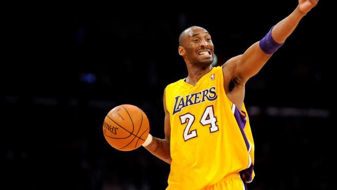 Kobe Bryant, durante un partido de la NBA.