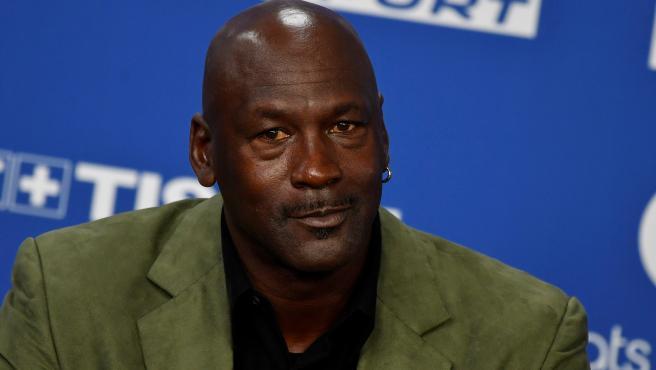 Michael Jordan, presidente de Charlotte Hornets.