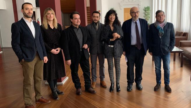 Presentación de la ópera 'Un ballo in maschera' en el Teatro Calderón de Valladolid.