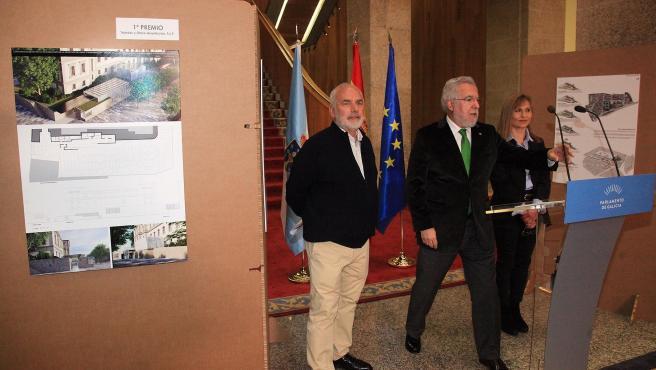 Presentación del proyecto para mejorar la accesibilidad del Parlamento de Galicia