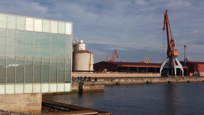 Puerto del Musel de Gijón.