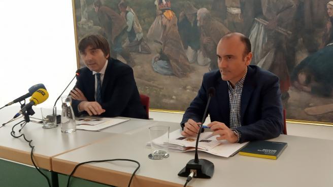 Alfonso Palacio y Pablo León.