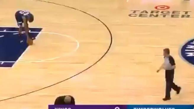 Homenaje de Minnesota Timberwolves a Kobe Bryant.
