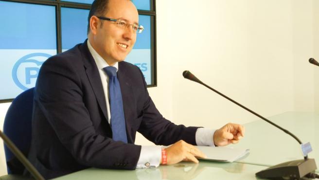 Portavoz del PP en el Ayuntamiento de Oviedo, Mario Arias.