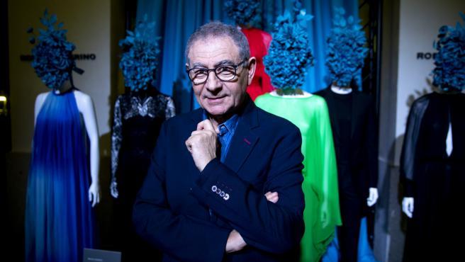 Roberto Verino en la presentación de 'Legado'.