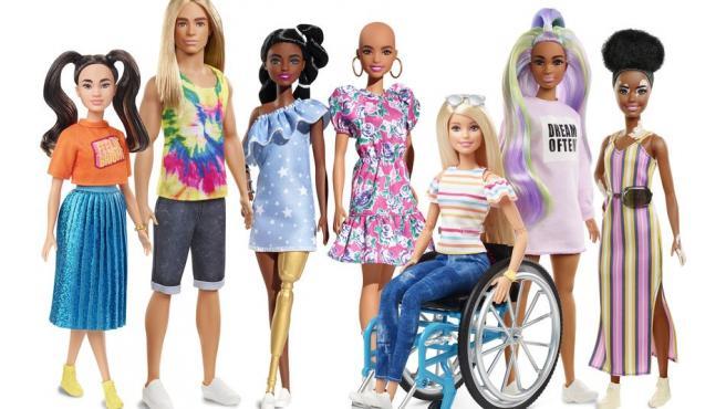 La línea Fashionistas 2020 ayuda a los niños a verse reflejados en las muñecas Barbie