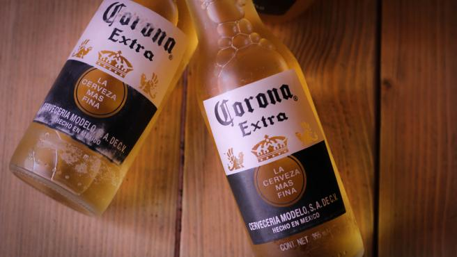 Cervezas Corona.