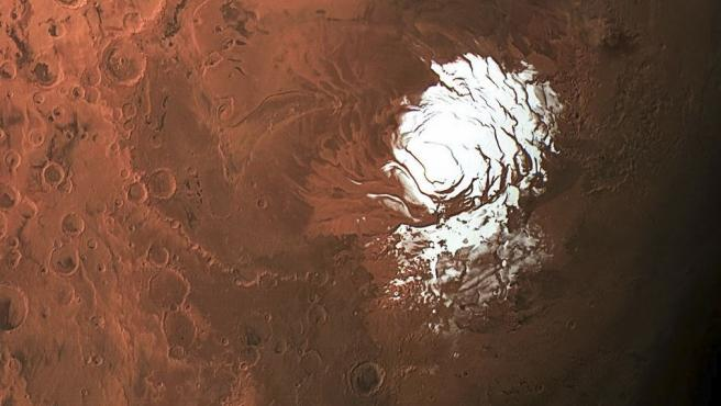 Hallada explicación a un misterio polar de Marte. 1/29/2020