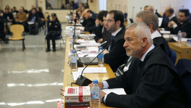 La Audiencia Nacional juzga a los líderes de Ausbanc y Manos Limpias, Luis Pineda y Miguel Bernad.