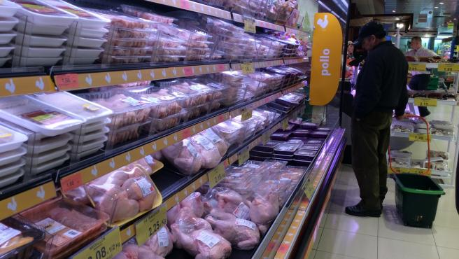 Precios, IPC, inflación, consumo, pollo, pollos, compra, compras, comprar, comprando, supermercado, mercado