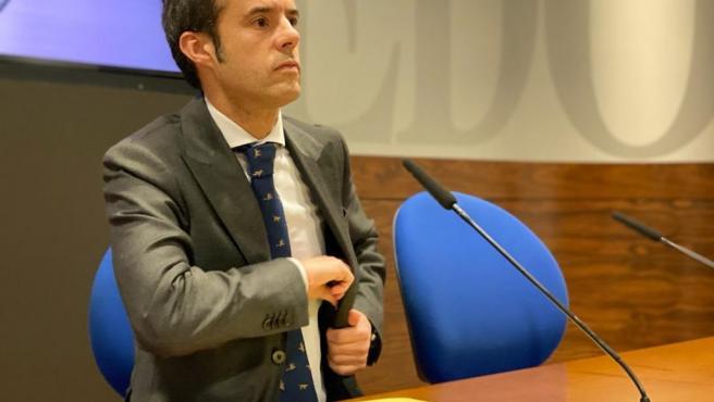 Primer teniente de alcalde y concejal de Urbanismo, Medio Ambiente, Infraestructuras y Distritos, Ignacio Cuesta.