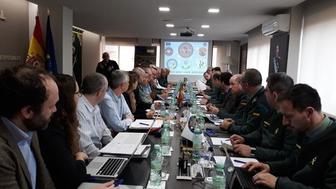 Reunión proyecto de vigilancia e intervención en el SAHEL en Logroño