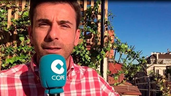 Rubén Martín, periodista de Cope.