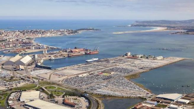 Vistas del Puerto de Santander