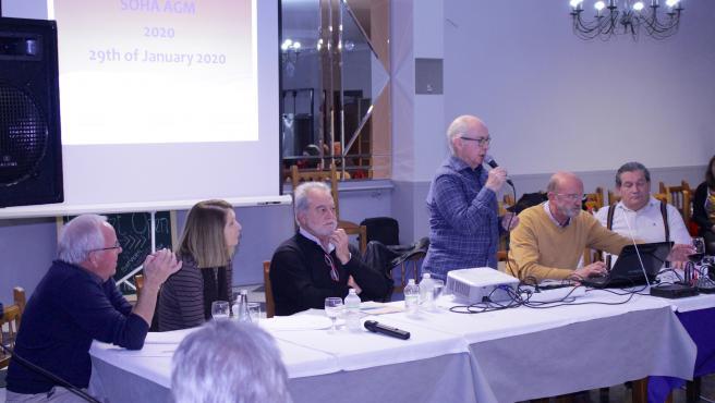 El presidente de la Asociación Salvemos Nuestras Casas Axarquía (SOHA), Phil Smalley