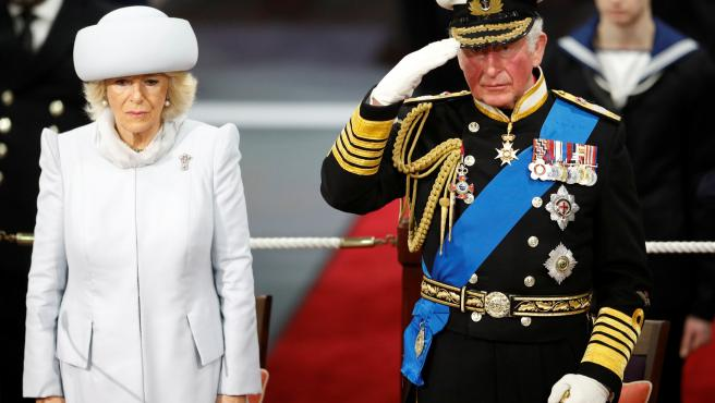 El príncipe Carlos de Inglaterra y Camilla Parker Bowles.