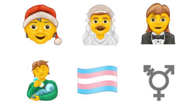 Así lucirían los nuevos emojis inclusivos según Emojipedia