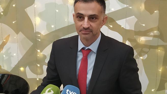 Ioannis Virvilis, reoresentante de la Comisión Europea visita Cáceres