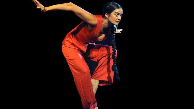 La bailarina y coreógrafa vallisoletana Mónica de la Fuente.