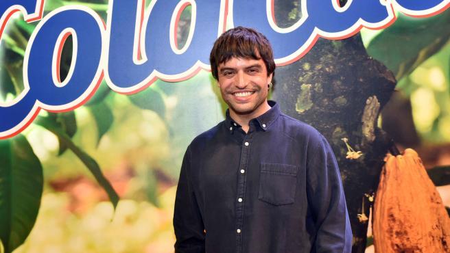 Manu Guix en la presentación de la nueva Canción del Cola Cao.