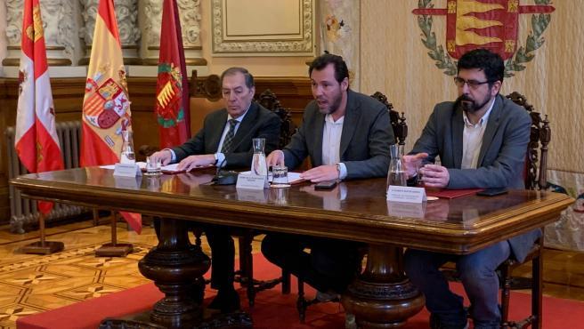 Presentación de la investigación sobre los orígenes del deporte en Valladolid.