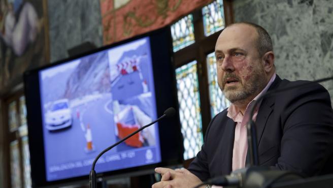 Vicepresidente y consejero de Carreteras, Movilidad e Innovación del Cabildo de Tenerife, Enrique Arriaga