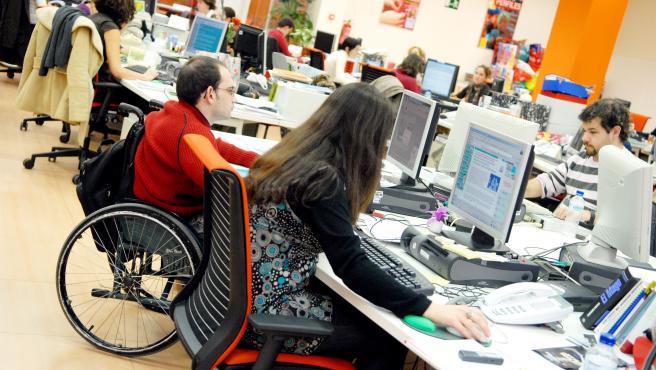 42 alumnos con discapacidad de la Universidad de Las Palmas de Gran Canaria han accedido a prácticas laborales gracias al programa de Fundación ONCE y Crue Universidades