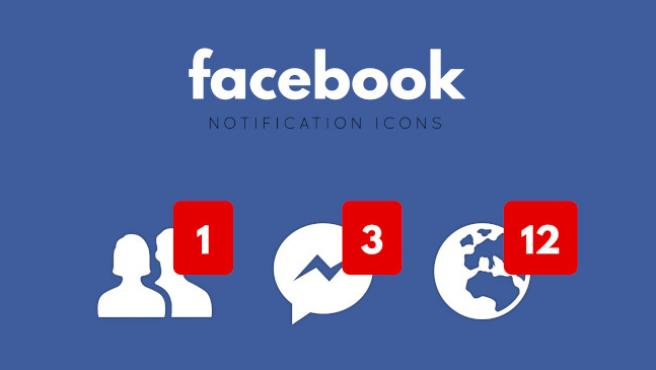 Los puntos rojos de Facebook pueden llegar a saturar