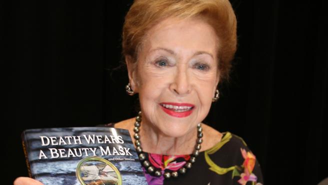La escritora Mary Higgins Clark, en una imagen de archivo de 2015.