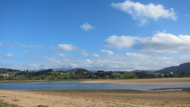Ría de Villaviciosa.