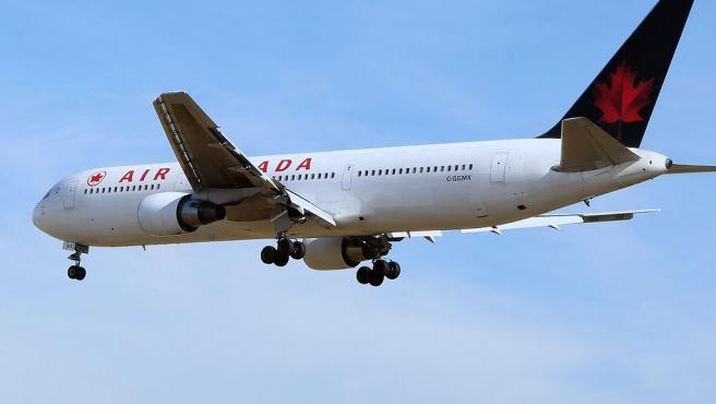 Avión de Air Canada.